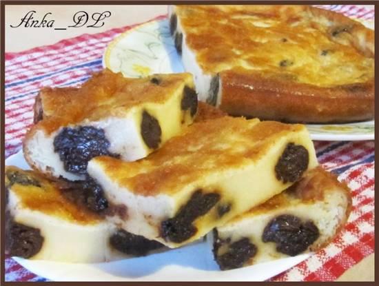 Бретонский пирог (Far Breton) с черносливом