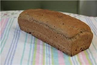 Хлеб пшенично-ржаной на пиве (духовка)