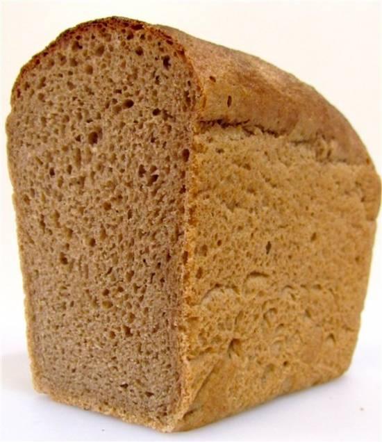 Заварной пшенично-ржаной хлеб в духовке Заварной пшенично-ржаной хлеб в духовке