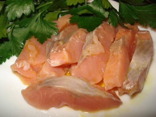 Рыбка соленая за два часа