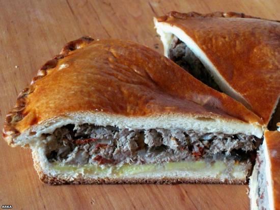 Пирог с бараниной (мастер-класс)