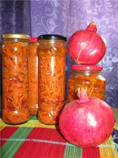 «Морковча» из бланшированной моркови
