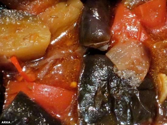 Овощное рагу по-магрибски (мультиварка Redmond RMC M4502)