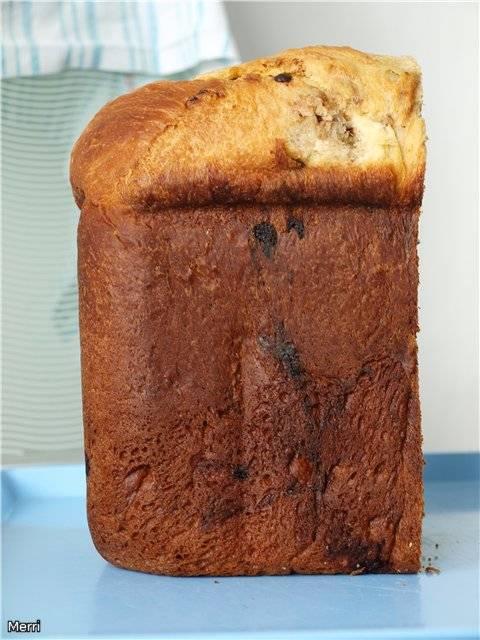 Сдобная булка в хлебопечке Moulinex OW 502430