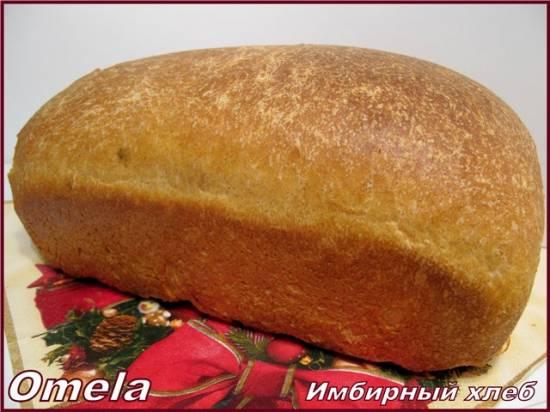 Имбирный хлеб (в духовке)