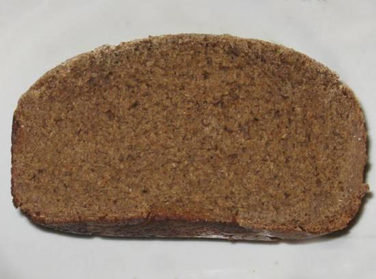 Ржаной заварной хлеб за 16 часов