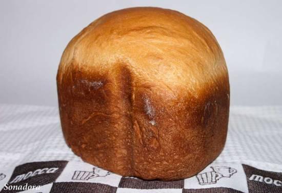 Яичный хлеб (хлебопечка)