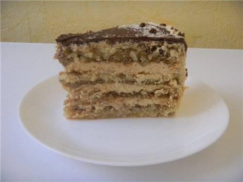 торт белая акация рецепт