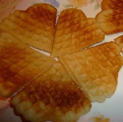 Вкуснющие рассыпчатые вафли-печеньеВкуснющие рассыпчатые вафли-печенье