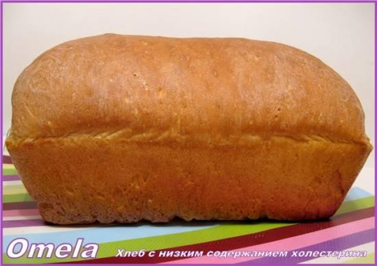 Хлеб с низким содержанием холестерина (в духовке)