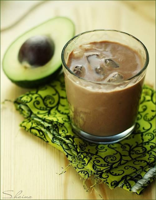 Милкшейк Авокадо и какао