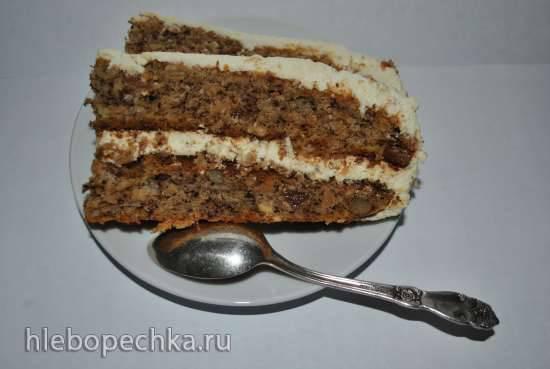 Торт Вегетарианский (без яиц)