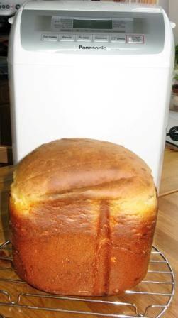 Творожный хлеб (хлебопечка)