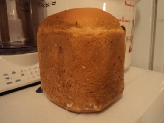 Пышный белый суперхлебушек (хлебопечка)