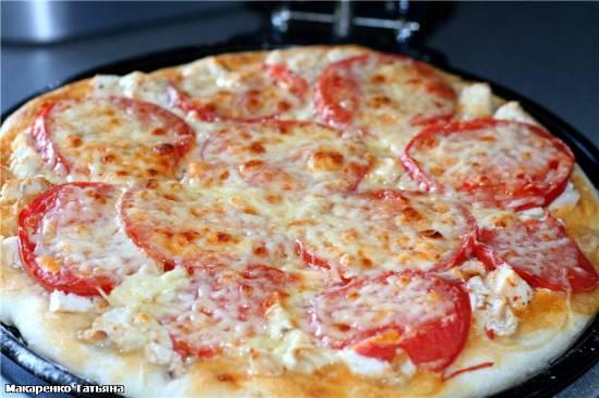 Пицца простая в пиццепечке