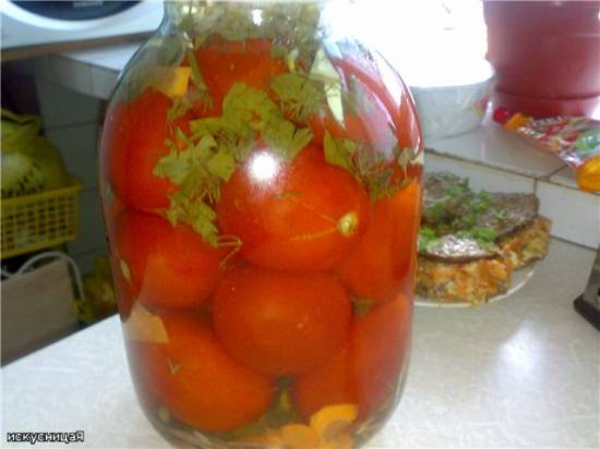 Квашеные помидоры с аспирином