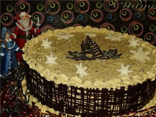 """Торт """"Гуцулка"""""""