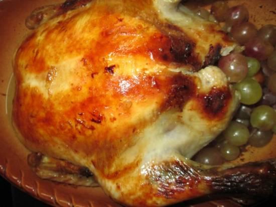 Курица, запечёная как пастрома