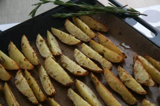 Картофель жареный в духовке