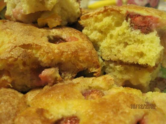 Пирог с ягодами Летнее настроение