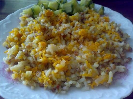 Каша гречнево-рисовая
