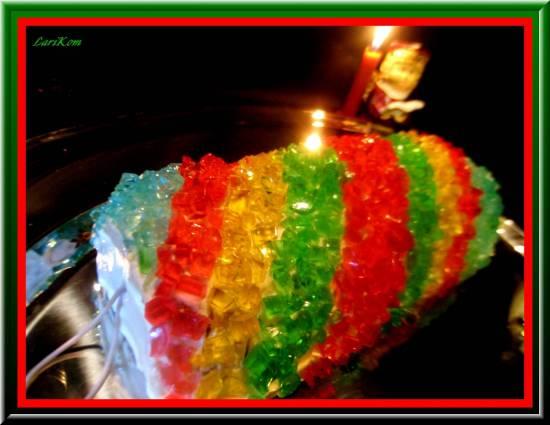 Торт Новогодняя хлопушка