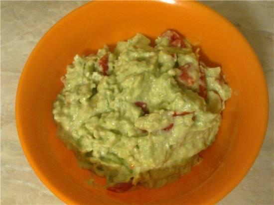 Салат из авокадо Мексиканский