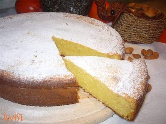 Колониальный апельсиновый пирог