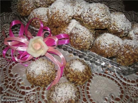 Печенье Шоколадно-ромовое наслаждение