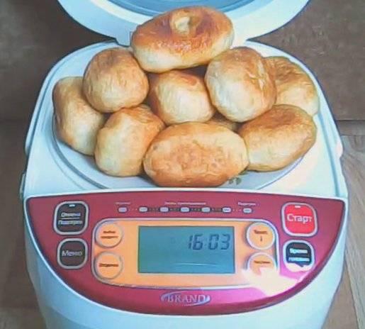 Пирожки жареные в масле в мультиварке Brand 37501