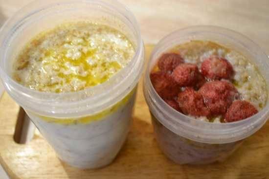 Каши разные важны, каши разные нужны)) Каша геркулесовая порционная на водяной бане в скороварке Оурссон