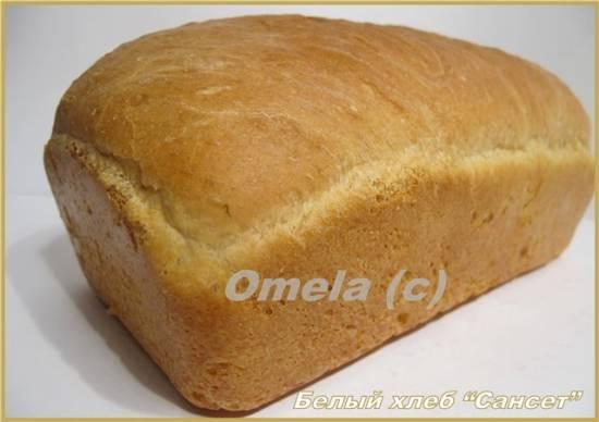 Белый хлеб «Сансет»
