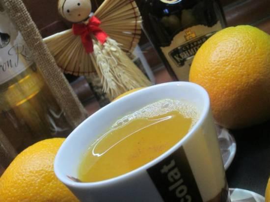"""Коньячно-апельсиновый чай Воспоминание о Париже Коньячно-апельсиновый чай """"Воспоминание о Париже"""""""