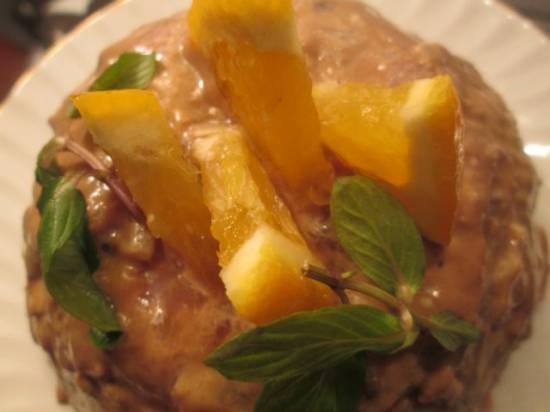 Террин из утки (индейки) в апельсиновом-коньячном маринаде