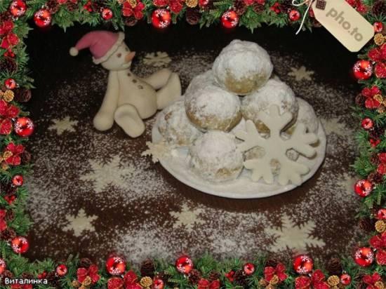 Печенье  Снежки