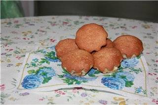Кексы с изюмом
