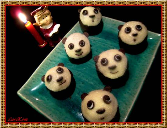 Капкейки Маленькие панды