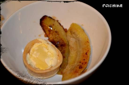 Десерт Бананы в кляре
