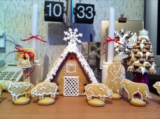 Печенье Новогодний хуторок - Пасхальный венок