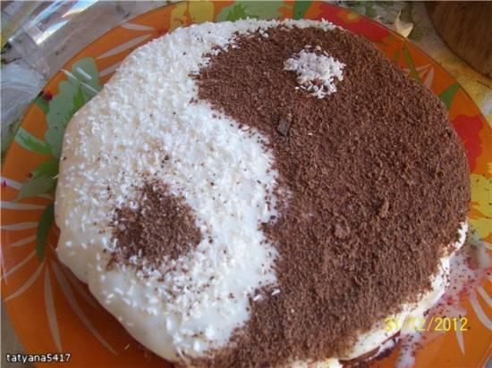 Торт Инь-Янь