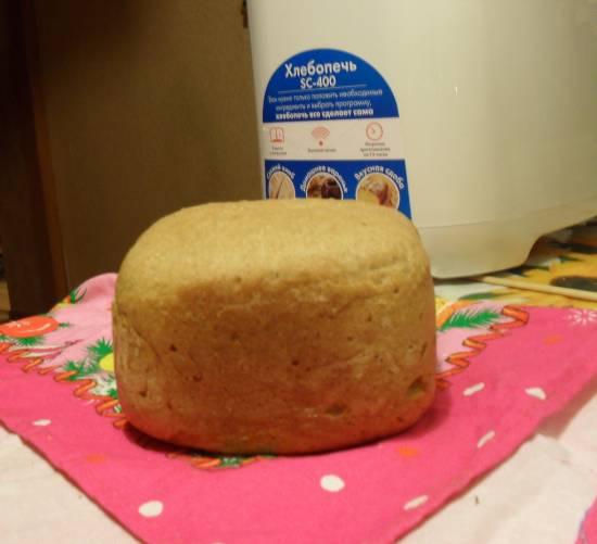 """Scarlett SC-400. Ржано-пшеничный хлеб на закваске """"Как раньше"""""""