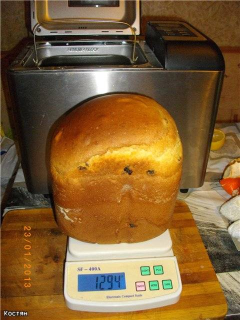 Clatronic BBA 3365. Хлеб к чаю для хлебопечки Clatronic BBA 3365. Хлеб к чаю для хлебопечки