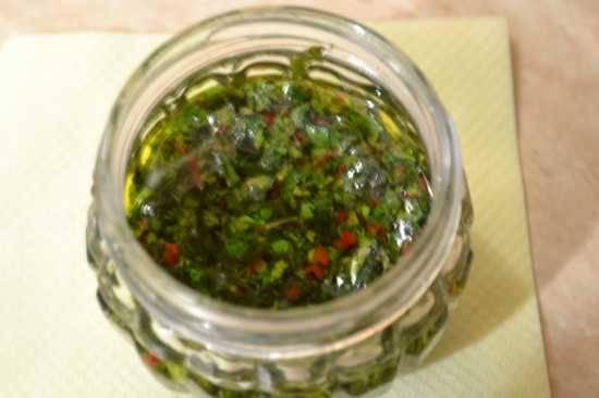 Гремолата из петрушки и мяты