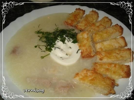 Суп картофельный (мультиварка Stadler Form)