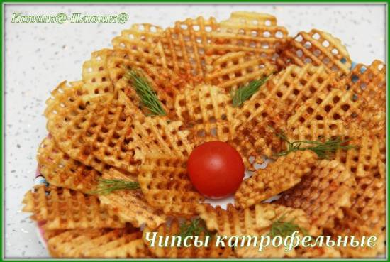 Картофельные чипсы (коптильня Brand 6060)