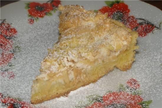 """Пирог-суфле """"Полосатая тыква"""" Пирог с яблочным суфле"""