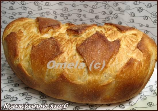 Кунжутный хлеб 4 злака (Автор Александра) (хлебопечка)