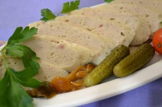 Болгарские колбаски в беконе