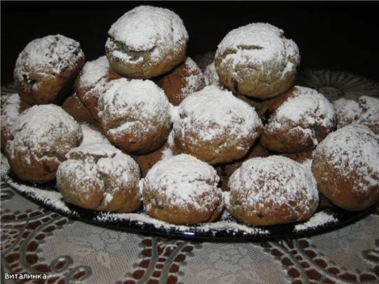 Печенье из варенья и пшеничной муки