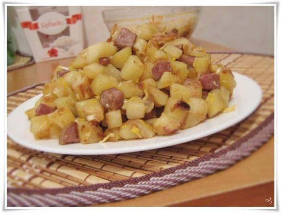 Картофель, жареный кубиками